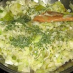капустный салат с тмином